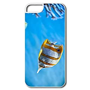 Movies Full Protection Copper Band Butterfly Fish IPhone 5/5s Case For Birthday Gift