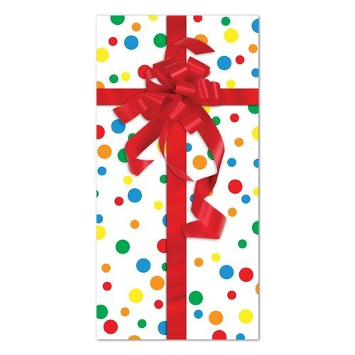 Party Gift Door Cover Party Accessory (1 count) (1/Pkg)
