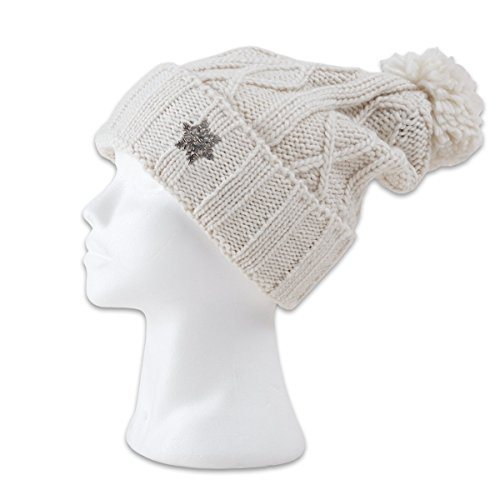 Thor Steinar Women's W Beanie Flora Knit Winter Hat German Style