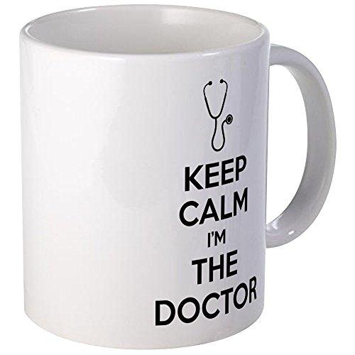 CafePress - Keep calm I'm the doctor Mug - Unique Coffee Mug, Coffee Cup