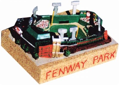 Fenway Park Stadium Replica (Boston Red Sox) - Silver Series