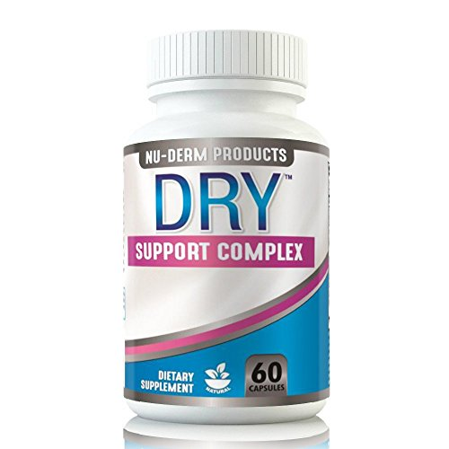 Nuderm DRY HYPERHIDROSIS TREATMENT pills stop sweating, sweaty hands Sweaty Feet Night Sweats Sweaty Underarms Naturally Proven Antiperspirant Vitamins treats Hyperhidrosis (Best Medication For Hyperhidrosis)
