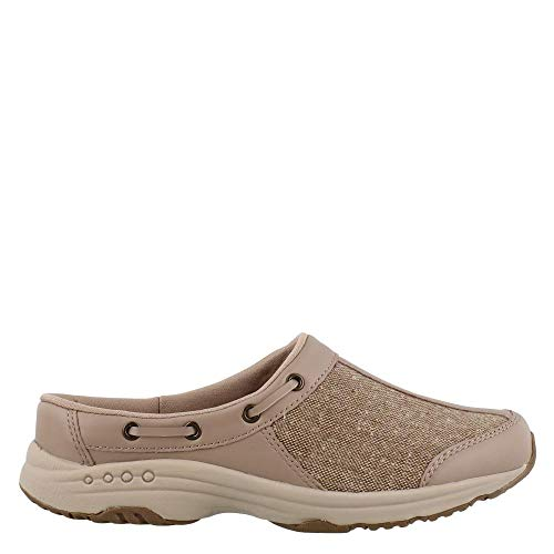 - Easy Spirit Women's, Travelport Slip On Sneakers Taupe 6 M