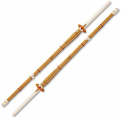 "Set of 2 42/"" Kendo Shinai Bamboo Stick Practice Sword Training Katana"