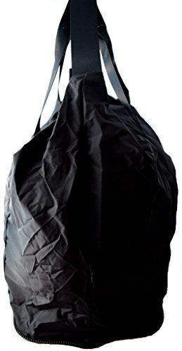 Borsa Borsone Palestra Uomo Donna K-Way Bag K-Foldable Crossover Sac K2m03-Nero