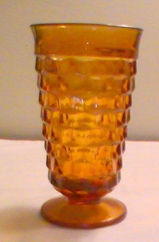Vintage Indiana Whitehall Amber Glasses - Set of 4 ()