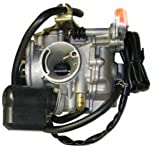 Chinese Scooter GY6 50cc Carburetor w/ Electric