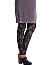 Sweet Mommy Maternity and Post-Partum Stretchy Lace Leggings Pants