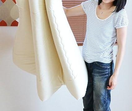 Single Size Made in Japan Japan Import EMOOR Japanese Traditional Mattress Futon 6-Fold