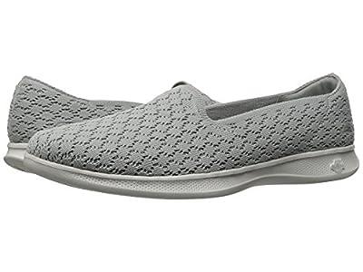 Skechers Performance Women's Go Step Challenge Walking Shoe (9.5 B(M) US, Lite-Grey)