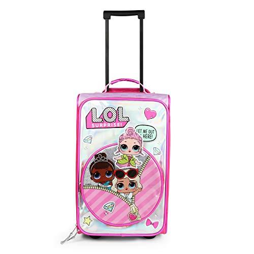 L.O.L Surprise! Kids Travel Carry On Wheeled Pilot Case