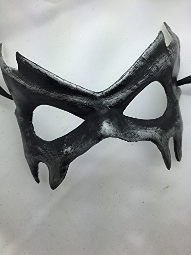 [New Style 2015 Unique Masquerade Mask, Charming and Simple Mask, Black Masquerade Mask, Mens Masquerade Mask, Mask Mardi Gras] (Simple Halloween Masks)
