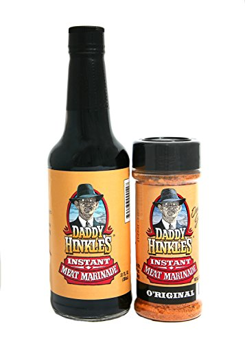 Daddy Hinkle's Inc Marinade 2 Part Set, Orig, 15 Ounce