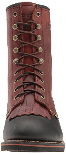 AdTec 1179 9 Packer Chestnut/Black Work Boot Chestnut/Black RRY6B8aD