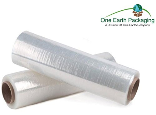 80 Gauge Stretch Film (One Earth 18 Inches x 1500 Ft. Clear Stretch Film: 1 Roll- 80 Gauge Stretch Wrap)