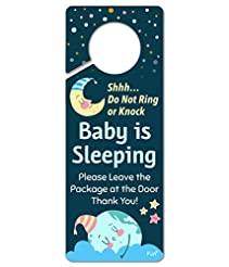FunPlus Baby Sleeping Sign - Do Not Knoc...