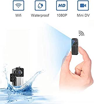 Mini Wireless IP Hidden Spy Camera Clothes Hook For Home Surveillance Camcorder