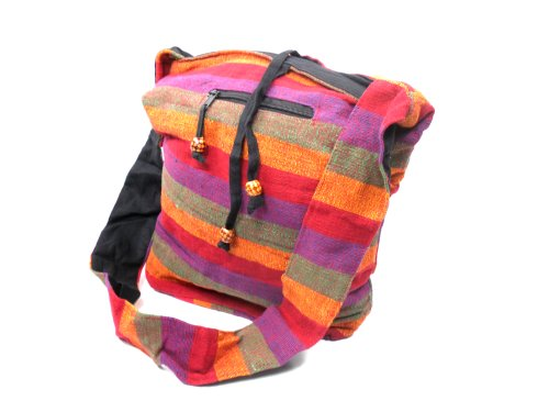 Indische Yogi Handtasche Freizeittasche mit langen Träger t-811 RntOA