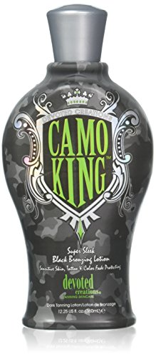 Devoted Creations CAMO KING Black Bronzing Lotion - 12.25 oz
