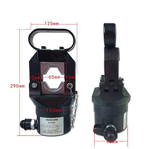 CGOLDENWALL CO-630A手動電動油圧式圧着ペンチ 端子圧着工具 圧着能力:150-630㎜2ポンプ付き (CO-630A+CP-700) B077M9XDJD