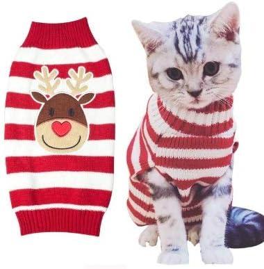 Reno Rudolph Navidad Jersey gato – 5 Tamaños: Amazon.es: Productos para mascotas