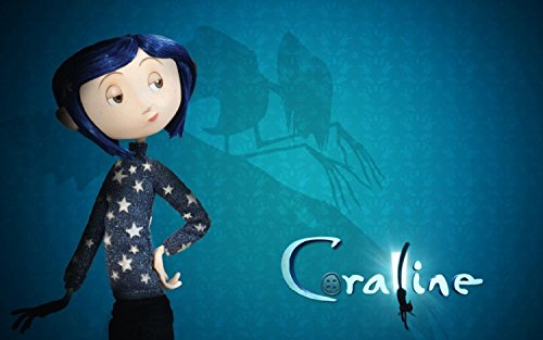 Jionk Dakota Fanning In Coraline Movie Poster 737 Hd Wall Decor Unframed Size Inch 12x19 Buy Online In Aruba Jionk Products In Aruba See Prices Reviews And Free Delivery Over 120 ƒ Desertcart