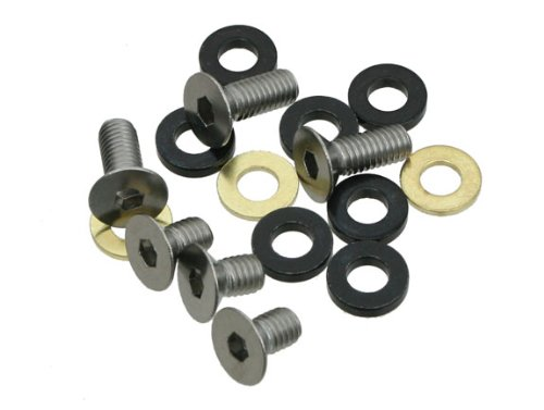 e thirteen by the hive ISCG Bolt Kit, 16 mm Flat-Head Bolts and C-Line Spacers