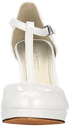 White 24416 Marco Escarpins Femme Patent Blanc Tozzi X1WaxqHwU