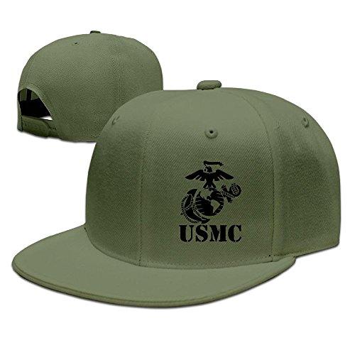 Eagle Globe Anchor USMC Marine Corps Baseball Cap Flat Bill Hat Snapback Hats