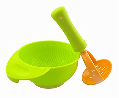 Practical Baby Food Grinding Bowl For Making Homemade Baby Food, Green by Black Temptation that we recomend personally.
