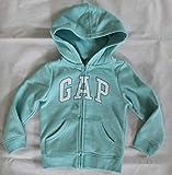 GAP Baby Boy's Logo Full Zip Hoodie Sweatshirt
