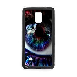 Naza Eye Samsung Galaxy Note 4 Case Magic Eye Cheap for Boys, Phone Case for Samsung Galaxy Note 4 Edge Cheap for Boys [Black]