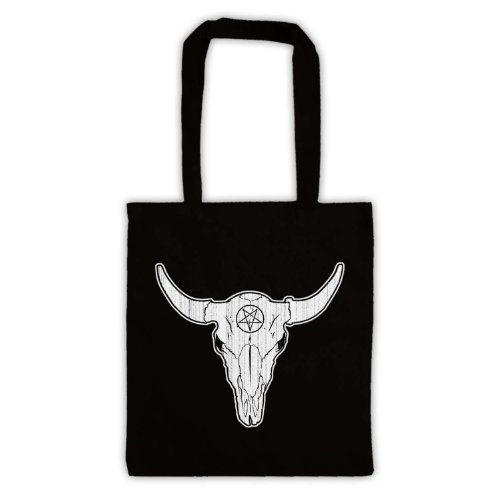 Sac Buffalo D'emballage Skull Noir Illustration RWpvwBpE