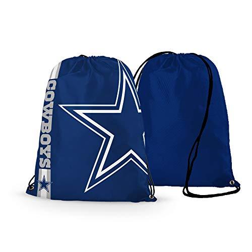 GF-sports store NFL Football Team Logo Drawstring Backpack Gym Bag - Pick Team (Dallas (Team Logo Drawstring Backpack)