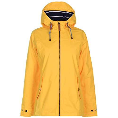 Gelert Womens Coast Waterproof Jacket Coat Top High Neck