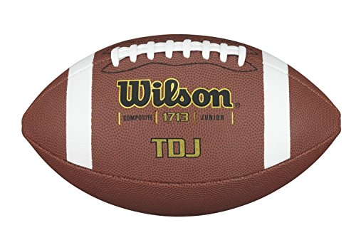 WILSON Tdj Traditional Composite Football, Braun, One Size
