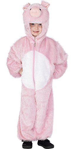 Farm Animal Costumes (Pink Pig Kids Costume)
