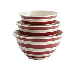 Paula Deen Pantryware 3-Piece Melamine Mixing Bowl Set