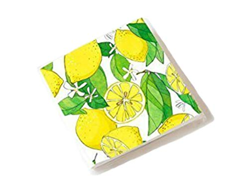 One Hundred 80 Degrees Lemons Napkin, 20/Pk, Paper, 6.5