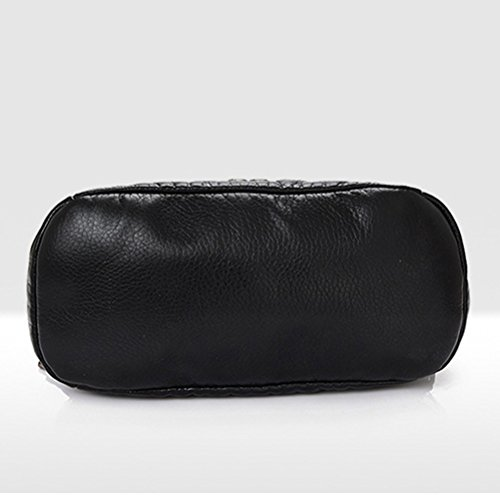 cuir Honeymall style en noir it noir Honeymall96 Sac pour Noir casual dos à femme 8xwqRpS4w