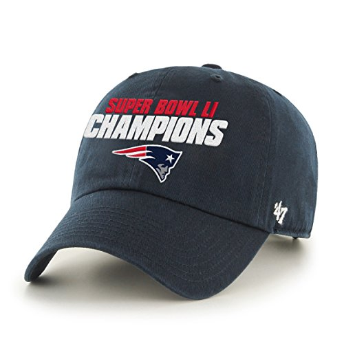 nfl-new-england-patriots-super-bowl-51-champions-47-clean-up-adjustable-hat-navy-one-size