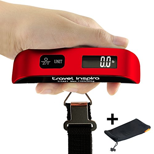 50kg Portable Electronic Handheld Travel Luggage Scale - 1