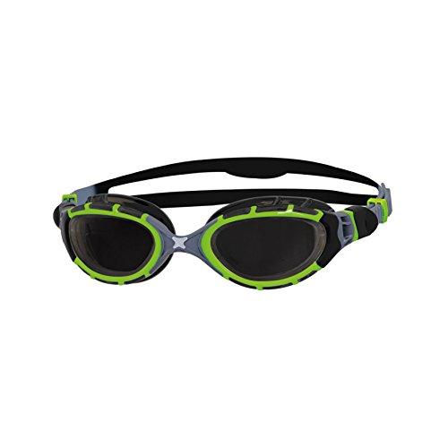 Zoggs Unisex Predator Flex 2.0 Titanium Reactor Swimming Goggles With Anti-fog (Goggles Predator)