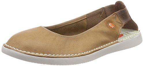 Brown Softinos Washed Damen Braun Ballerinas Tho456sof Slingback xxTHqwR6