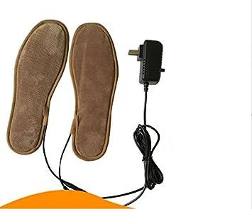 GXS cargar plantillas de zapatos de calefacción cálidas USB Plantillas plantillas eléctrica almohadilla eléctrica almohadilla térmica