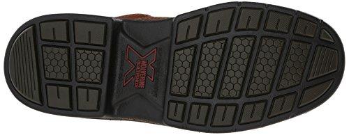 eb8798df80f Wolverine Men's Raider Oxford Steel Toe EH Work Boot, Brown, 9 M US ...