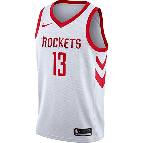 OAWANBA NBA Houston Rockets James-Harden 13 Swingman Men Jersey (Blanco, XXL): Amazon.es: Deportes y aire libre