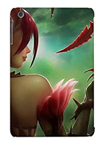 FRVROHc3708gLZCr Tpu Phone Case With Fashionable Look For Ipad Mini/mini 2 - Zyra League Of Legends Case For Christmas Day's Gift