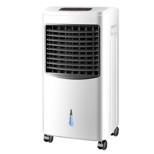 nditioner cooling fan,Air cooler home air conditioning fan summer home cooler vertical fan mini cooler fan with remote control -C ()