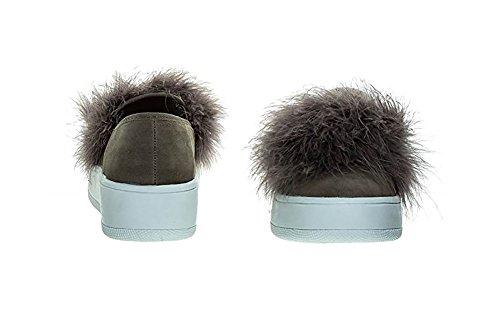 Sneakers Fashion Soda Con Piattaforma Comode Scarpe Da Tennis Taupe Nb